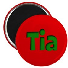 Tia Red and Green Magnet