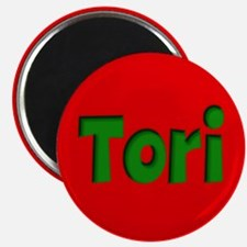 Tori Red and Green Magnet