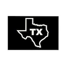 TX - Texas Rectangle Magnet