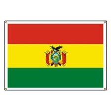 Flag of Bolivia Banner