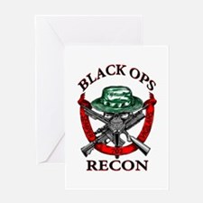 blackops logo Greeting Card