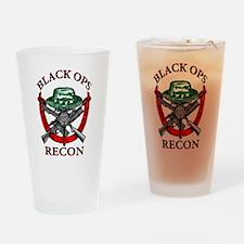 blackops logo Drinking Glass
