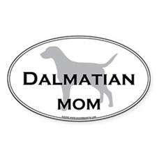 Dalmatian MOM Oval Decal