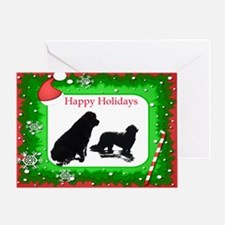 Newfoundland Happy Holidays Greeting Card