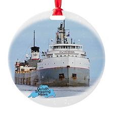 Cuyahoga arrives Duluth Ornament