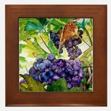 Napa Harvest Framed Tile