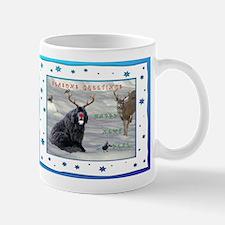Rudolph Newfy and Wildlife Friends Mug