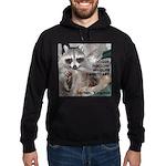"""Raccoon """"Peanut"""" Custom Hoodie (dark)"""