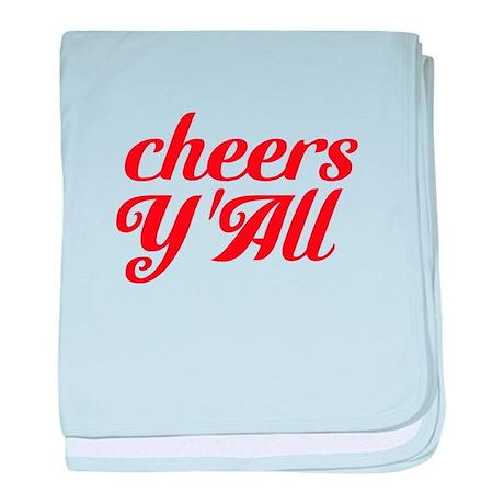 Cheers YAll baby blanket