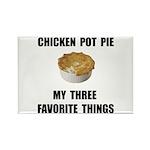 Chicken Pot Pie Rectangle Magnet (100 pack)
