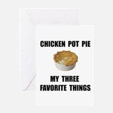 Chicken Pot Pie Greeting Card