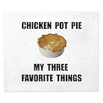 Chicken Pot Pie King Duvet