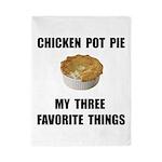 Chicken Pot Pie Twin Duvet