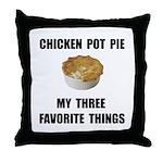 Chicken Pot Pie Throw Pillow