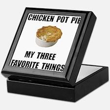 Chicken Pot Pie Keepsake Box