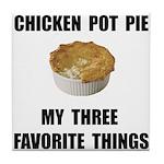 Chicken Pot Pie Tile Coaster
