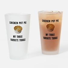 Chicken Pot Pie Drinking Glass