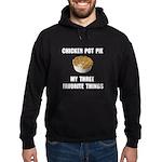 Chicken Pot Pie Hoodie (dark)