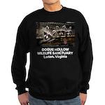 Three Raccoon Posers Custom Sweatshirt (dark)