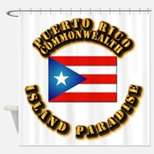 Puerto Rico - Commonwealth Shower Curtain