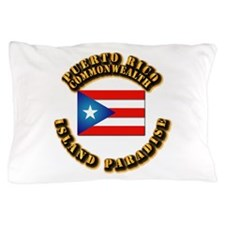 Puerto Rico - Commonwealth Pillow Case