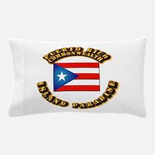 Puerto Rico - Commonwealth Pillow Case