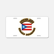 Puerto Rico - Commonwealth Aluminum License Plate