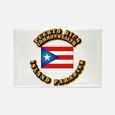 Puerto Rico - Commonwealth Rectangle Magnet