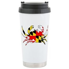 Cute Maryland crab Travel Mug