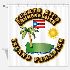 Puerto Rico - Island Paradise Shower Curtain