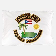 Puerto Rico - Island Paradise Pillow Case