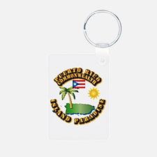 Puerto Rico - Island Paradise Keychains