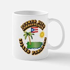 Puerto Rico - Island Paradise Mug