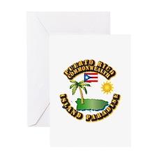 Puerto Rico - Island Paradise Greeting Card