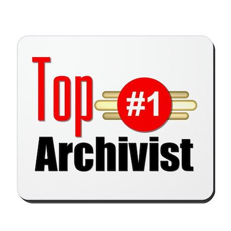Top Archivist Mousepad