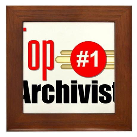 Top Archivist Framed Tile