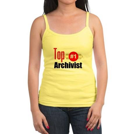 Top Archivist Jr. Spaghetti Tank