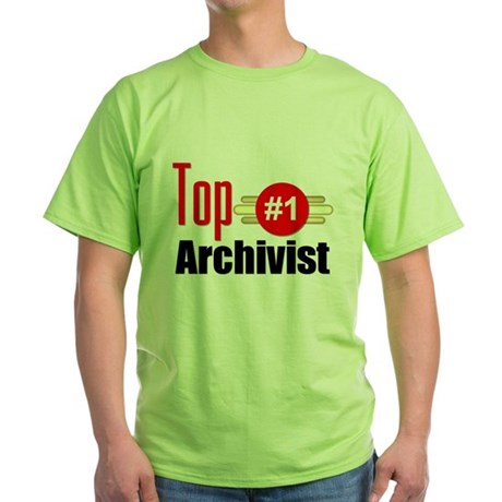 Top Archivist Green T-Shirt