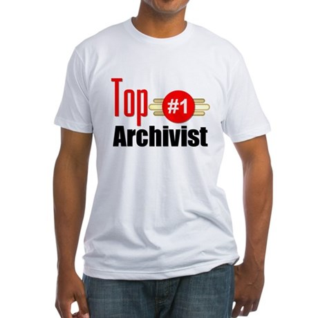 Top Archivist Fitted T-Shirt