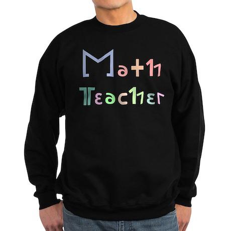 Math Teacher Sweatshirt (dark)