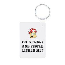 Fungi Lichen Keychains