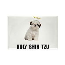 Holy Shih Tzu Rectangle Magnet (100 pack)