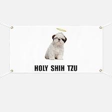 Holy Shih Tzu Banner