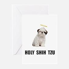 Holy Shih Tzu Greeting Cards (Pk of 20)