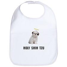 Holy Shih Tzu Bib