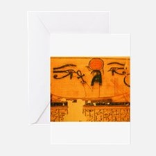 RA in SOLAR BARQUE Greeting Cards (Pk of 10)