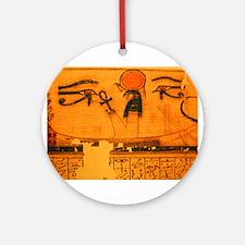 RA in SOLAR BARQUE Ornament (Round)