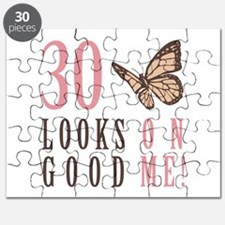 30th Birthday Butterfly Puzzle