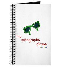No Autographs Please - Journal