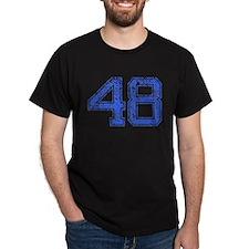 48, Blue, Vintage T-Shirt